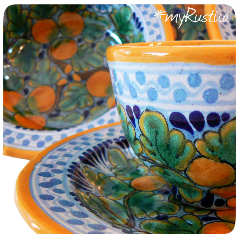 mexican talavera pottery and tableware